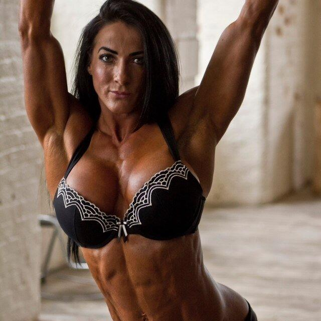 Muscular women mature